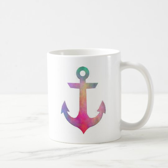 Plasma anchor coffee mug