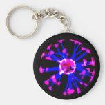 Plasma ball key chains