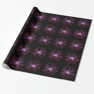 Plasma Ball Wrapping Paper
