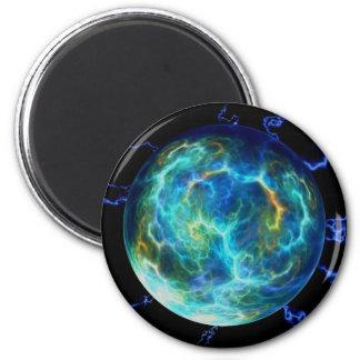 Plasma Electric 6 Cm Round Magnet