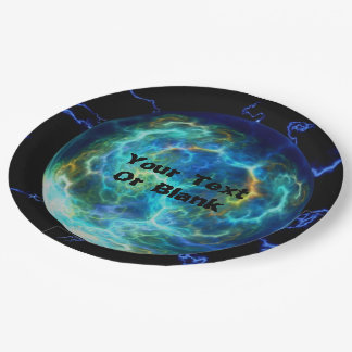 Plasma Electric 9 Inch Paper Plate