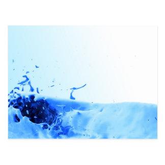 Plasma Splash Postcard