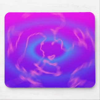 Plasma Swirl: Abstract Artwork: Mouse Mat
