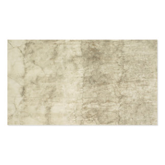 Plaster Antique Paper Template Blank neutral Pack Of Standard Business Cards