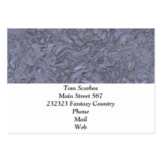 plaster blue (I) Pack Of Chubby Business Cards