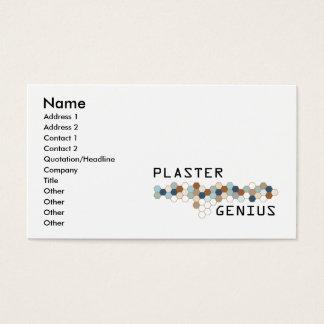Plaster Genius Business Card