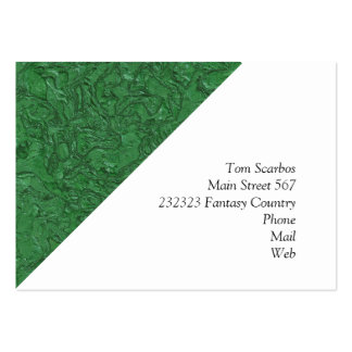 plaster green (I) Pack Of Chubby Business Cards