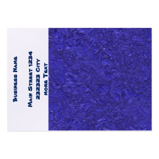 plaster inky blue (I) Pack Of Chubby Business Cards