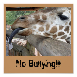 Plaster No Bullying Giraffe