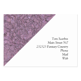 plaster pink (I) Pack Of Chubby Business Cards