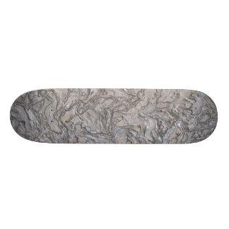 plaster silver (I) Skate Deck