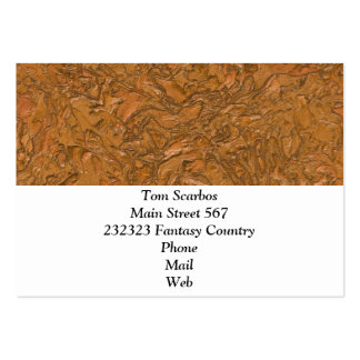 plaster terra (I) Pack Of Chubby Business Cards