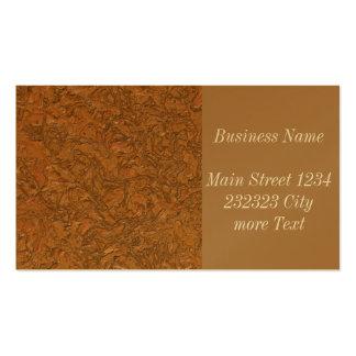 plaster terra (I) Pack Of Standard Business Cards