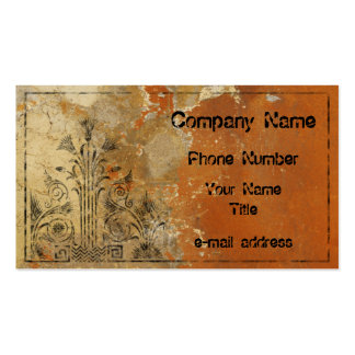 Plaster Wall Pack Of Standard Business Cards