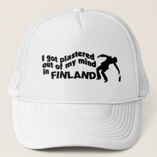 Plastered in Finland hat