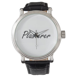 Plasterer Artistic Job Design Watch