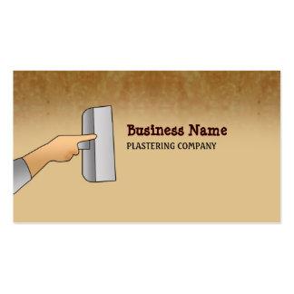 Plasterer Business Cards
