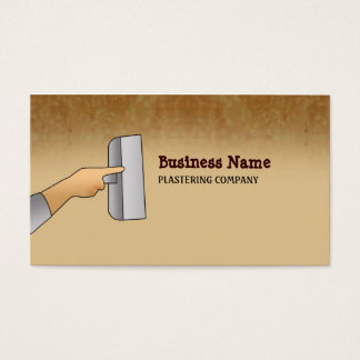 Plasterer Business Cards