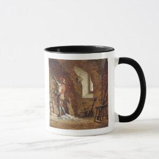 Plasterer, c.1807 (oil on panel) mug
