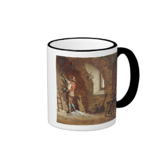 Plasterer, c.1807 (oil on panel) ringer mug