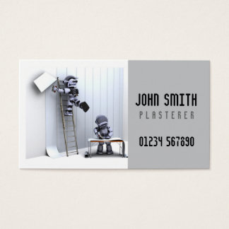 Plasterers Business Card