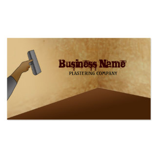 Plastering Business Cards