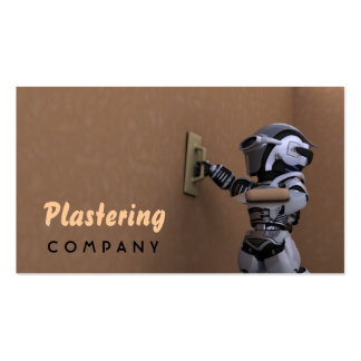 Plastering Company Business Card