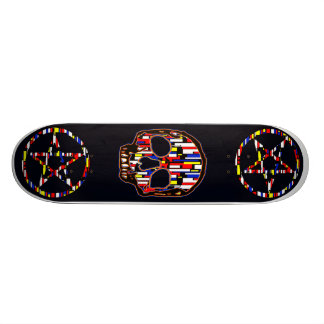 PLASTI-SKATE-11 CUSTOM SKATE BOARD