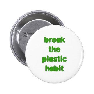 Plastic 6 Cm Round Badge
