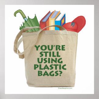 Plastic Bags Poster