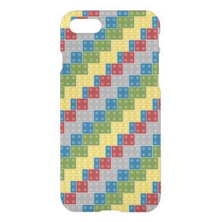 Plastic Blocks Pattern Illustration iPhone 7 Case