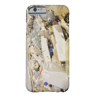 Plastic bottles and ocean dumping on a tropical barely there iPhone 6 case