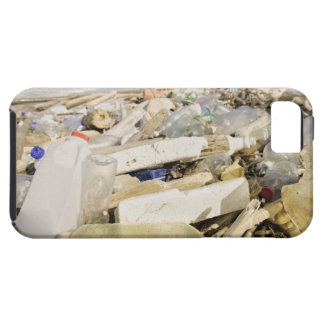 Plastic bottles and ocean dumping on a tropical iPhone 5 case