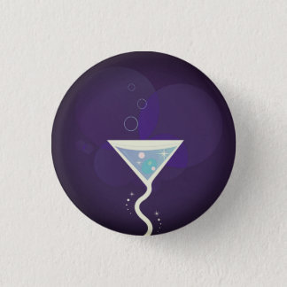 Plastic button with Cocktail