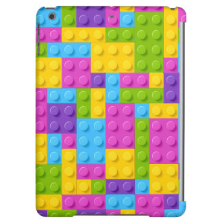 Plastic Construction Blocks Pattern