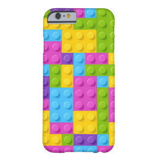 Plastic Construction Blocks Pattern Barely There iPhone 6 Case