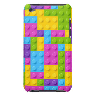 Plastic Construction Blocks Pattern Barely There iPod Covers