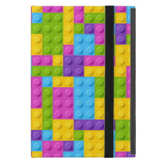 Plastic Construction Blocks Pattern Case For iPad Mini