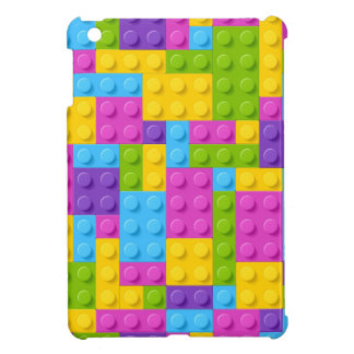 Plastic Construction Blocks Pattern Case For The iPad Mini