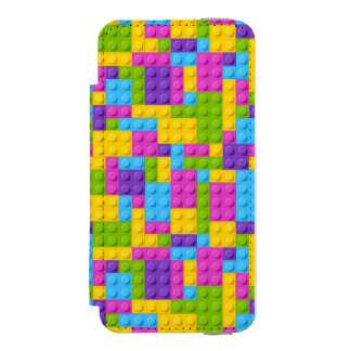 Plastic Construction Blocks Pattern Incipio Watson™ iPhone 5 Wallet Case