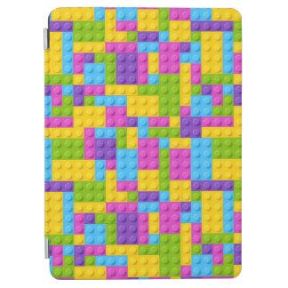 Plastic Construction Blocks Pattern iPad Air Cover