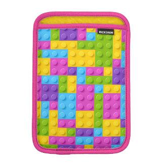 Plastic Construction Blocks Pattern iPad Mini Sleeve