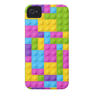 Plastic Construction Blocks Pattern iPhone 4 Case-Mate Case