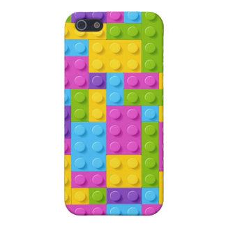 Plastic Construction Blocks Pattern iPhone 5 Case
