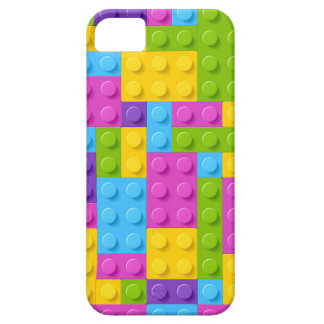 Plastic Construction Blocks Pattern iPhone 5 Cover
