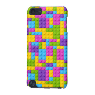 Plastic Construction Blocks Pattern iPod Touch 5G Case