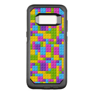 Plastic Construction Blocks Pattern OtterBox Commuter Samsung Galaxy S8 Case