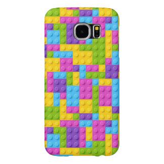 Plastic Construction Blocks Pattern Samsung Galaxy S6 Cases