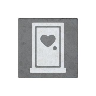 Plastic Doors Minimal Stone Magnet