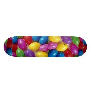 Plastic Easter eggs Skate Deck
